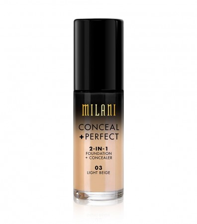 Milani Conceal & Perfect Liquid Foundation - Light Beige