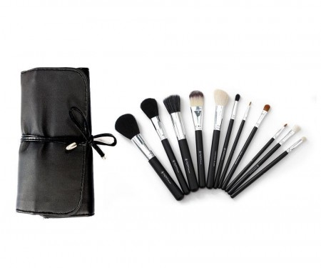 Crown - 11 PC STUDIO PRO MAKEUP Børste Sett