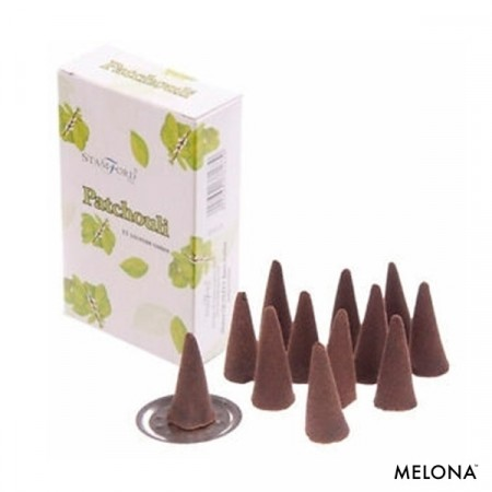Incense cones røkelse - Patchouli