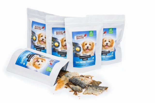 Salmon Treat Hundesnacks 5 pk